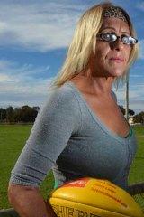 Vilified: Kirsti Miller in Broken Hill.