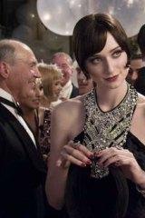 Elisabeth Debicki as Jordan Baker in <i>The Great Gatsby</i>.