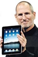 Apple CEO Steve Jobs' latest baby.