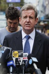 Facing allegations he misled Parliament: Premier Barry O'Farrell.
