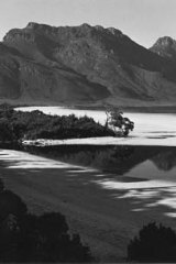Lake Pedder before it was flooded.