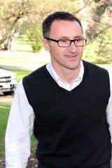 Greens senator Richard Di Natale.