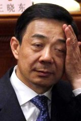Dumped: Bo Xilai.