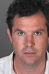Ryan Bowman, in a booking photo released by the Los Angeles Sheriff's Department.