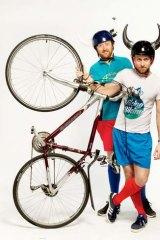 Viking Biking's Matt Peterson and  Dave Zwolenski.