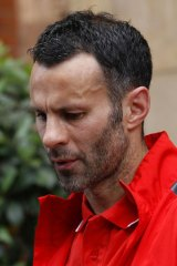 Ryan Giggs ... the Manchester United footballer named as the plaintiff in a gagging order.