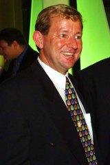 Row ... former Magpies chairman Jim Marsden.