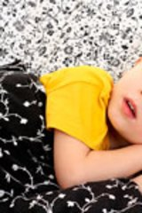 Night terrors can start after children turn two.