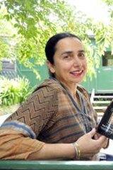 Nazaaray's Paramdeep Ghumman and wife Nirmal.