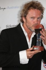 Craig McLachlan won the award for Best Actor in a Musical for <i>The Rocky Horror Show</i>.
