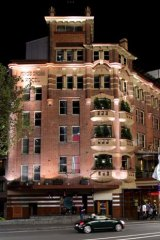 Possible legal action ... the Kings Cross Hotel.