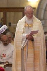 The Very Reverend Dean Peter Catt.