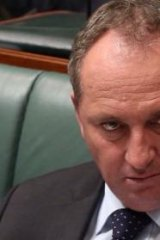 Agriculture minister Barnaby Joyce has said Canberra is out of touch with the regional sector.