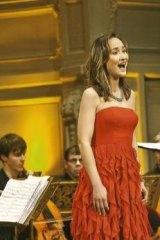 Mary-Jean Anais O'Doherty, Houston-born but Sydney trained coloratura soprano.