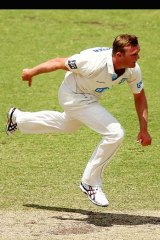 Return: Doug Bollinger could be in the squad for the third Test.