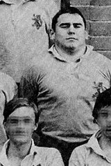 Brent Peters, Paul's older and more troublesome brother, posing as a member of The Scots College 1st XV in 1976.