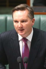 """Demand for resources is starting to moderate"": Chris Bowen."