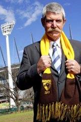 Victoria Police Association Secretary Greg Davies is a Hawthorn supporter.