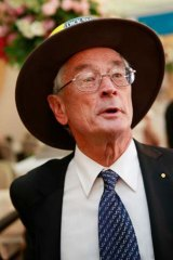 On the front foot ... Dick Smith attacked News Ltd's corporate culture.
