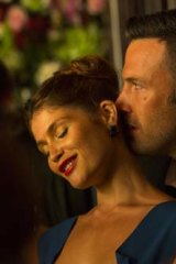 Ben Affleck and Gemma Arterton co-star with Timberlake to help ramp up the glamour.