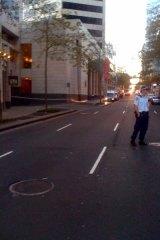 Sydney CBD shooting ... security guard killed.