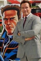 "Former California ""Governator"" Arnold Schwarzenegger: ""Girly man"" line a favourite."