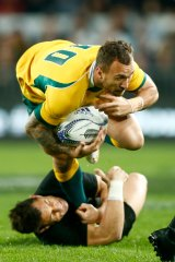 In by default? Quade Cooper.
