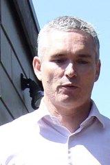 His own man … Craig Thomson.