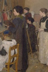 Skillful...in works such as The Art Students (1895), Fox matches anyone in Australian art.
