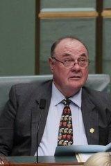 Bid dismissed ... chief opposition whip Warren Entsch.
