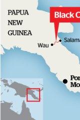 The Black Cat track in Papua New Guinea.