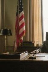 Domestic reality: Tom Wilkinson as Lyndon B. Johnson.
