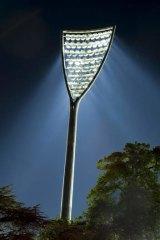 The lights at Manuka Oval.