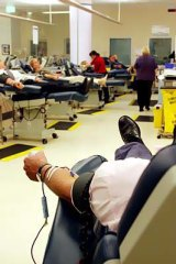 Gay men have been banned from giving blood since the mid-1980s.