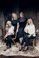 Stars of Sydney Theatre Company's The Present: Anna Bamford (left),  Cate Blanchett, Susan Prior and Jacqueline McKenzie.