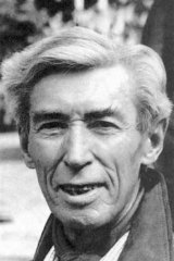 Luke Davies' correspondence with Hergé (pictured) resulted in a spirited back-and-forth.
