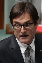 "Said the opposition's campaign had escalated from ""the absurd to the deranged"" ... Climate Change Minister Greg Combet."