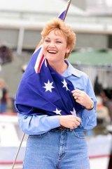 Pauline Hanson: ''The undisputed female political bogan title-holder in the classical class''.