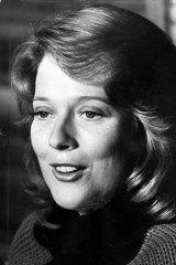 Diana Trask in 1977.