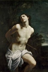 Hit: Guido Reni's <i>Saint Sebastian</i> (San Sebastiano), 1615-20, from the National Gallery of Victoria's Italian Masterpieces exhibition from the Prado.