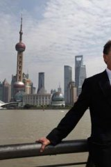 Premier Ted Baillieu in Shanghai last year.