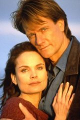 Chemistry: Sigrid Thornton and William McInnes in <em>SeaChange</em>.