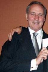 De Angelis with Paul Keating.