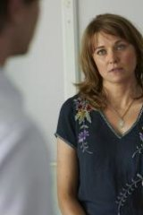 Lucy Lawless in The Code.