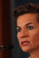Christiana Figueres.