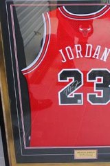 Evidence of fraud ... A Michael Jordan shirt.