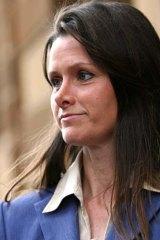 Denied any wrongdoing ... Kim Hollingsworth.