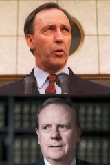 Recent treasurers: (from top) Paul Keating, Peter Costello and Wayne Swan.
