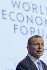 Tony Abbott: calling for fairer taxes.