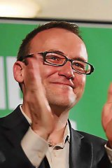 The victor... Adam Bandt.
